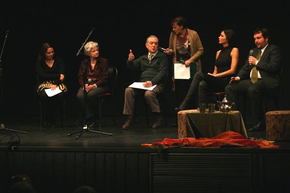 Elke Burul, Ariella Reggio, Giorgio Cociani, Gioia Meloni, Susanna Huckstep, Emiliano Edera